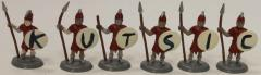 Hitite Guardsmen at Attention #1