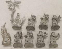 Iron Dwarf Crossbowmen Collection #2