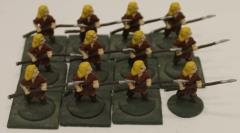 Wood Elves - Receiving w/Spears Collection #1
