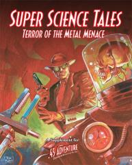 Super Science Tales - Terror of the Metal Menace