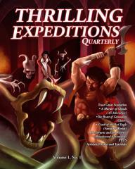"Vol. 1, #1 ""4 Scenarios, A Murder of Ghouls, The Beast of Gevaudan"""