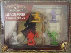 Mercenaries - Promos Set #4 (Kickstarter Exclusives)