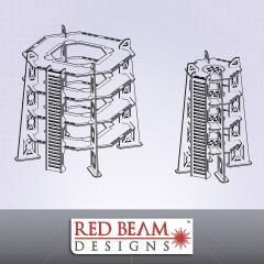 4 Storey Tower Set