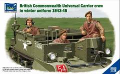 British Commonwealth Universal Carrier Crew in Winter Uniform 1943-45