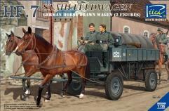 German HF.7 Shalfeldwagen - Horse Drawn Steel Field Wagon