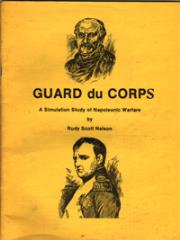 Guard du Corps - A Simulation Study of Napoleonic Warfare (2nd Edition)