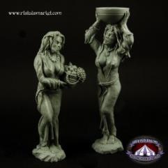 Woman Statues