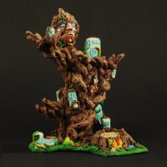 Elf Wooden Dice Altar