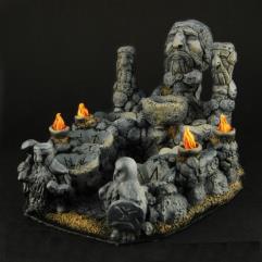 Stone Dwarf Dice Altar