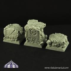 25mm Square Scenic Bases