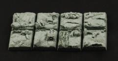 20mm Swamp Square Bases