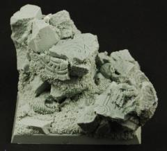 50mm Cavern Ruins Square Base