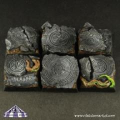20mm SF Fortress Ruins Square Bases