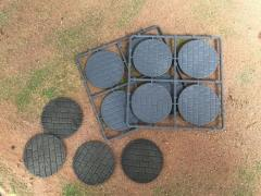 60mm Round Paved Effect Bases