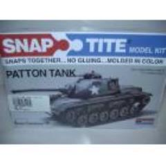 Snap Tite Model Kit - Patton Tank