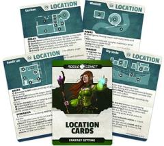 Fantasy Setting - Location Cards