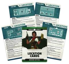 Modern Setting - Location Cards
