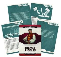 Fantasy Setting - Traps & Riddles