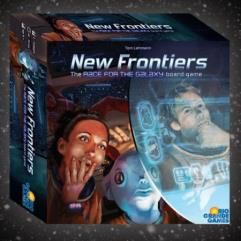New Frontiers - The Race for the Galaxy Board Game