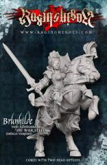 Brunhilde w/Shield on War Steed