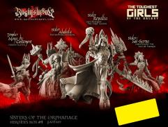 Sisters of the Orphanage Heroines Box #4