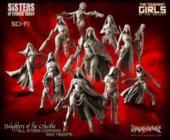 Daughters of the Crucible - All Stars Command and Troops
