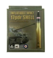 Inflatable WWII 17pdr Shell