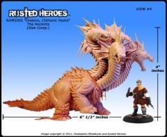 Drekinn - Chthonic 6-Headed Hydra (Resin)