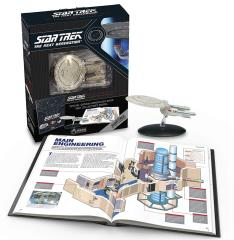 Star Trek The Next Generation - The U.S.S. Enterprise NCC-1701-D Illustrated Handbook w/Collector's Model