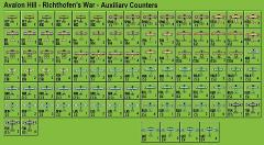 Richthofen's War - Auxiliary Aircraft Counters