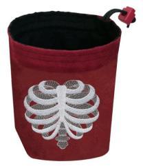 Ribcaged - Red Bag