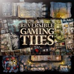 Reversible Gaming Tiles - Lower City #1 (Set A)