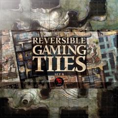 Reversible Gaming Tiles - Lower City #2 (Set B)