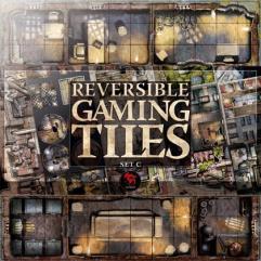 Reversible Gaming Tiles - Upper City #1 (Set C)
