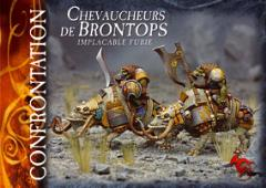 Orc Warriors on Brontops