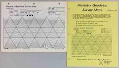 Planetary Geodesic Survey Maps