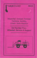 Imperial Armed Forces Vehicle Guide, Altair Sub-Sector #4 - Wheeled, Service & Support