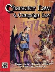 Character Law & Campaign Law (2nd Edition, 2nd Printing)