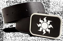 Belt Buckle - White Mana