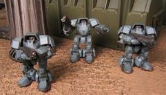 URSA Mech Assault Team