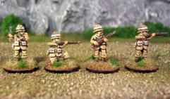 Pulp British Infantry