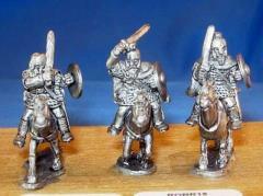 Heavy Cavalry - Swords, Barded Horses