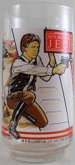 Return of the Jedi Glass - Han Solo