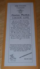Greek Life Course Packet