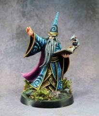 Darius The Blue - Male Wizard w/Book (25th Anniversary Edition Alternate Sculpt)
