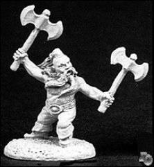 Dorn Ironspike - Male Fighter w/Axe & Shield
