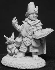 Sprig Sorethumb - Male Halfling Wizard w/Rabbit