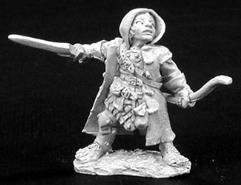 Woody Stumpwimple - Male Halfling Ranger w/Sword & Bow