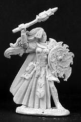 Sister Kendra - Female Cleric w/Mace & Shield