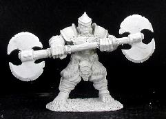 Kurz - Male Half-Orc Fighter w/Twin-Bladed Axe